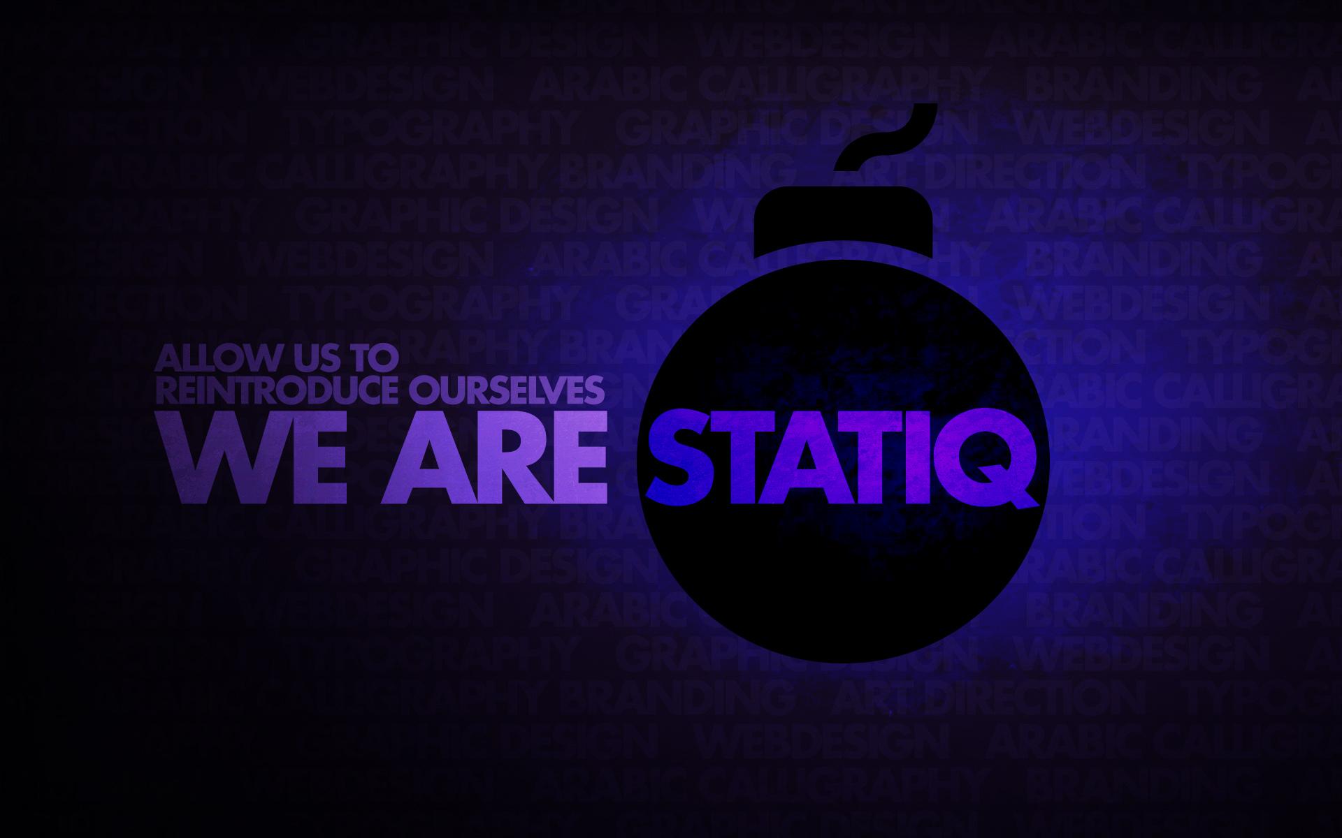 We are Statiq